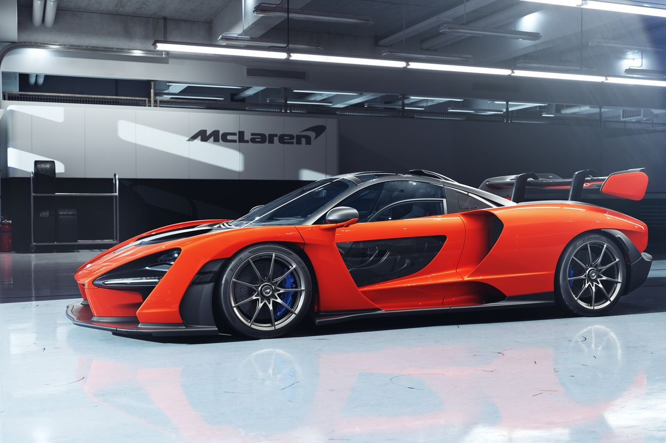 McLaren's new million-dollar hypercar looks like a giant Matchbox toy