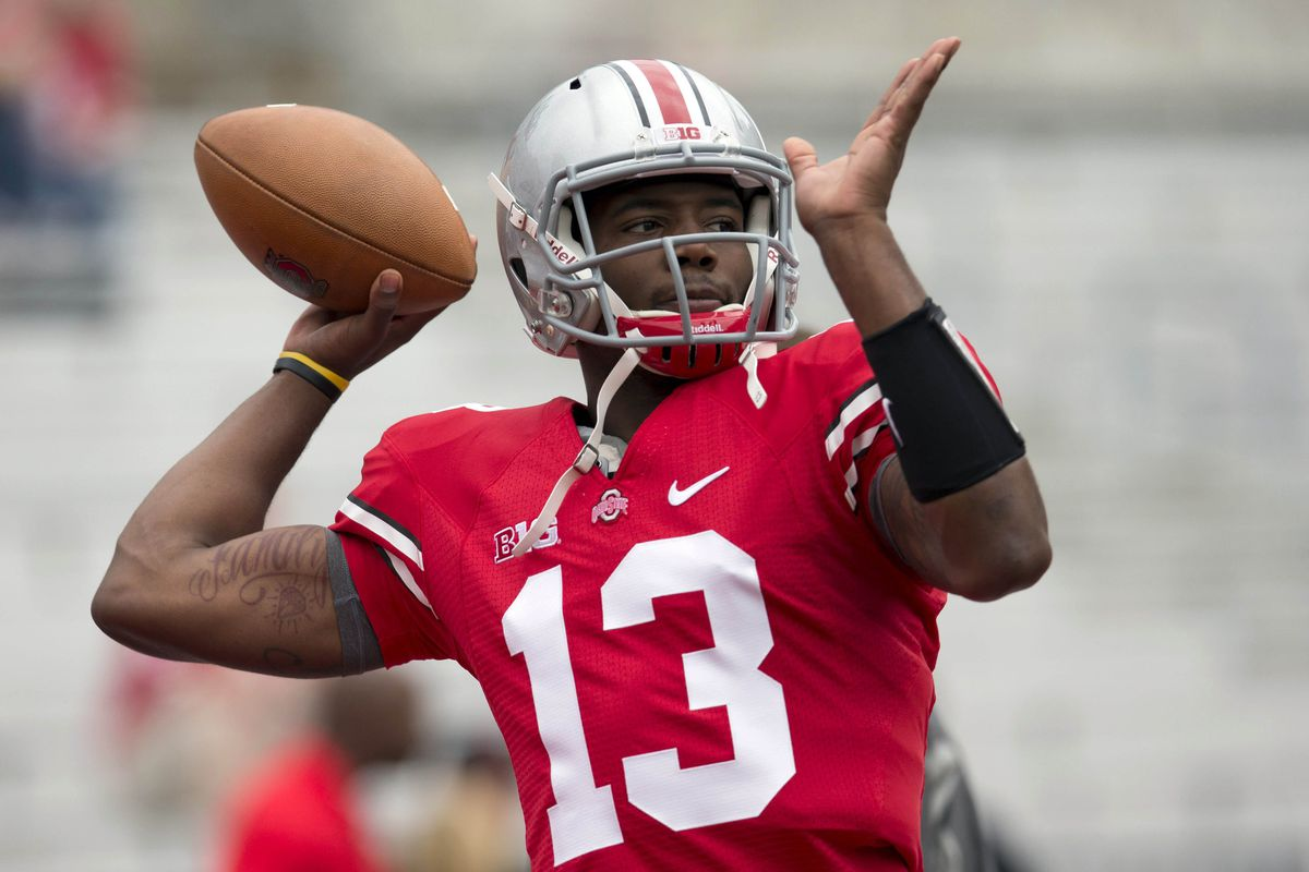 Kenny Guiton led Ohio State to a huge come from behind victory.