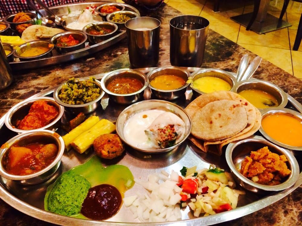 Based In Mumbai Houston Is Home To The Only U S Outpost Of Maharaja Bhog Restaurant Known For Its Vegetarian Thali Fare Also As A Selection