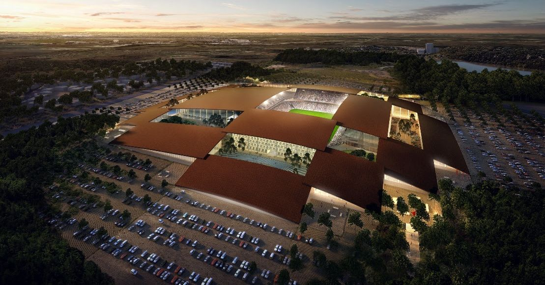 Giant Sports Stadium And Arena Planned For New East Austin