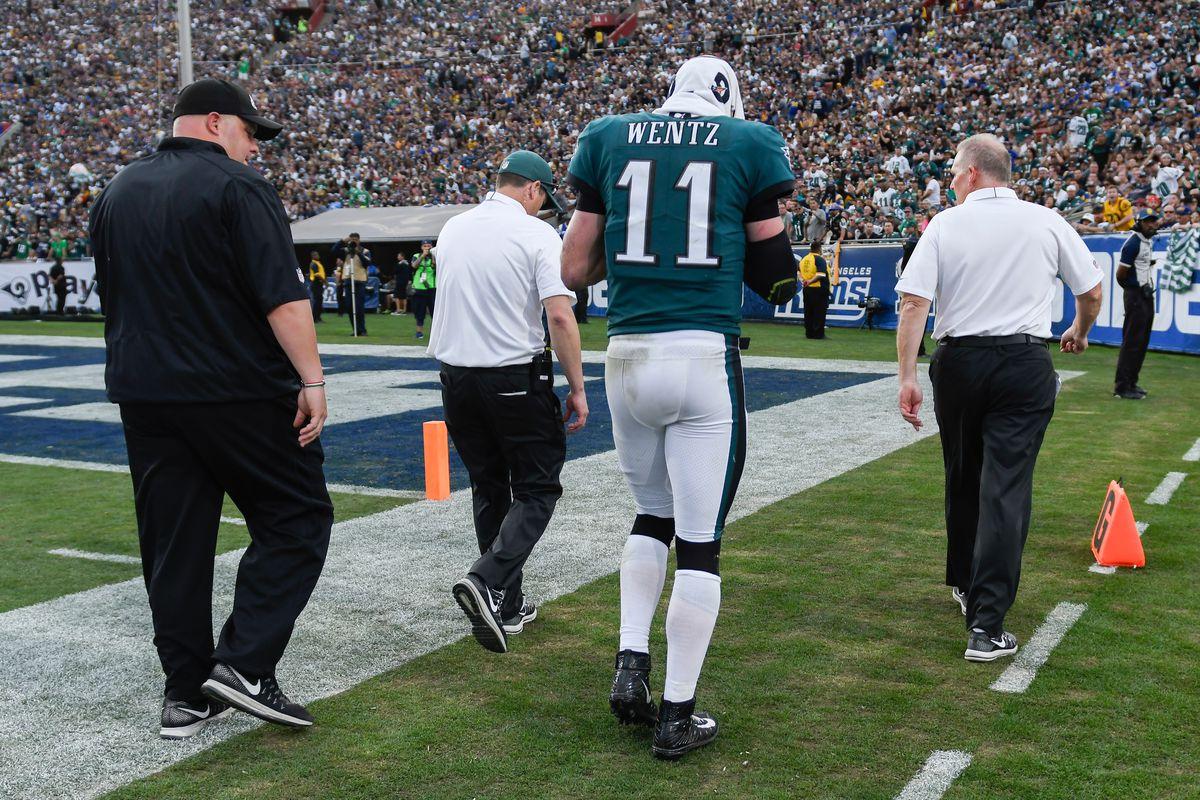 NFL: Philadelphia Eagles at Los Angeles Rams