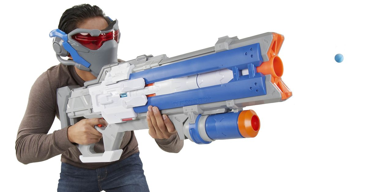 Nerf just made an Overwatch blaster for Soldier 76 that actually looks good