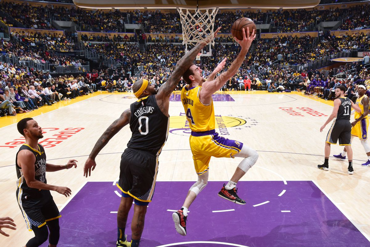 Lakers Podcast: What kind of impact will Alex Caruso, DeMarcus Cousins make?