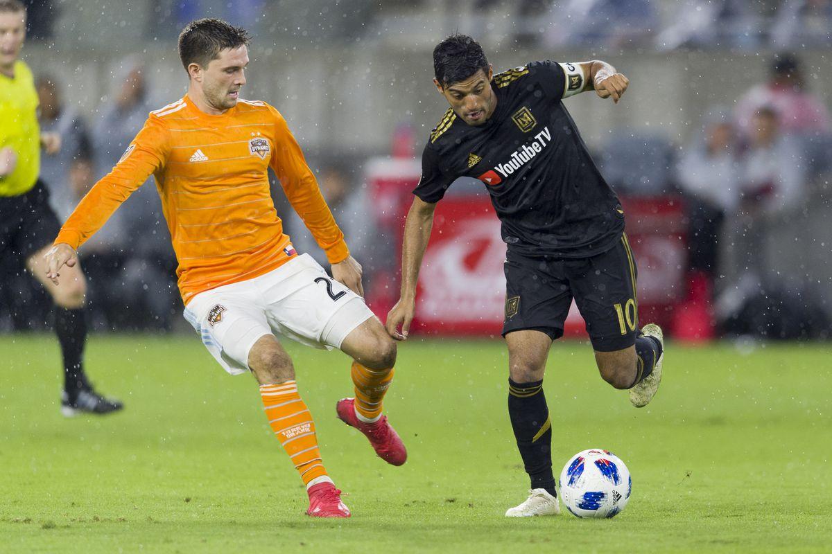 MLS: Houston Dynamo at Los Angeles FC