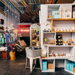 """<b>↑</b> <a href=""""http://life-curated.com/""""><b>Life:Curated</b></a> (186 Grand Street) is just that: a clever, curated selection of all the things you probably didn't know you need. You'll find in-the-know brands here with accessible price points, like <b"""