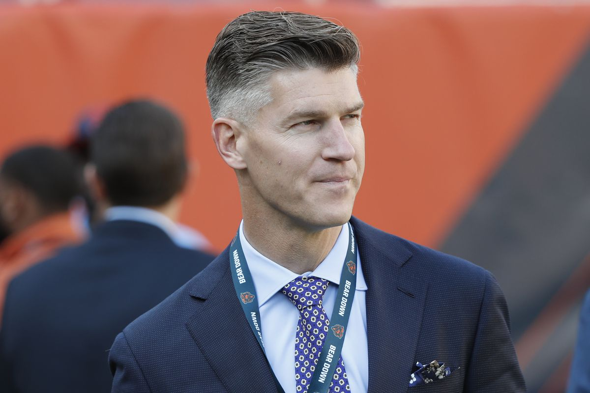 GM Ryan Pace and the Bears have never had draft plans altered like they will be this year.