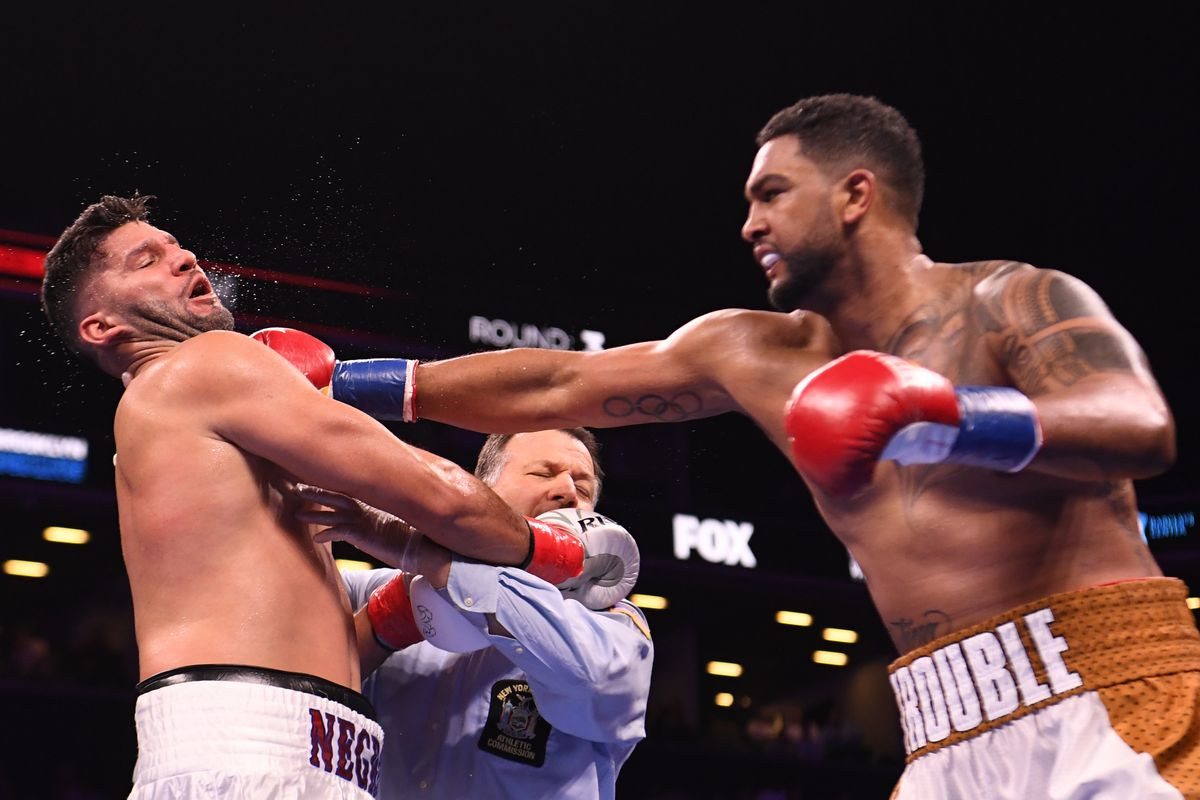Pbc On Fox Results Dominic Breazeale Knocks Out Carlos Negron Bad