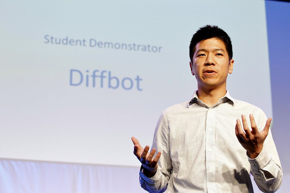 """<a href=""""http://www.flickr.com/photos/democonference/6644770697/sizes/z/in/photostream/"""" target=""""new"""">Michael Tung Diffbot - photo by The Demo Conference</a>"""