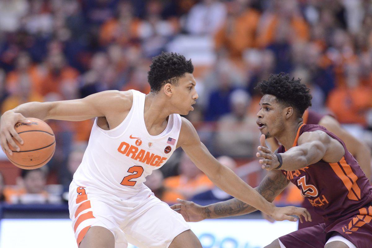 NCAA Basketball: Virginia Tech at Syracuse