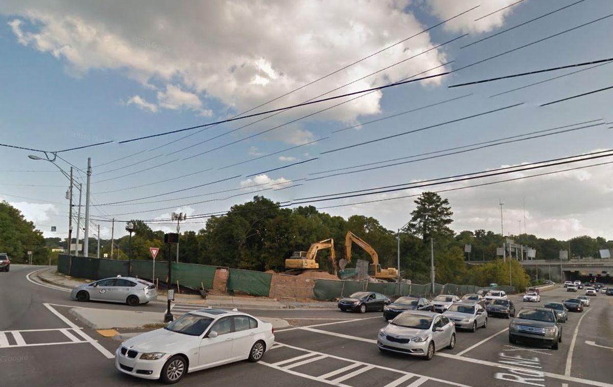 Mapping Buckhead S Construction Boom Curbed Atlanta
