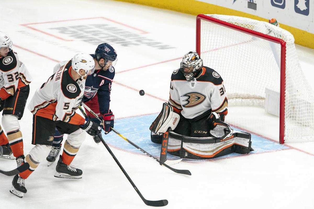 NHL: OCT 11 Ducks at Blue Jackets