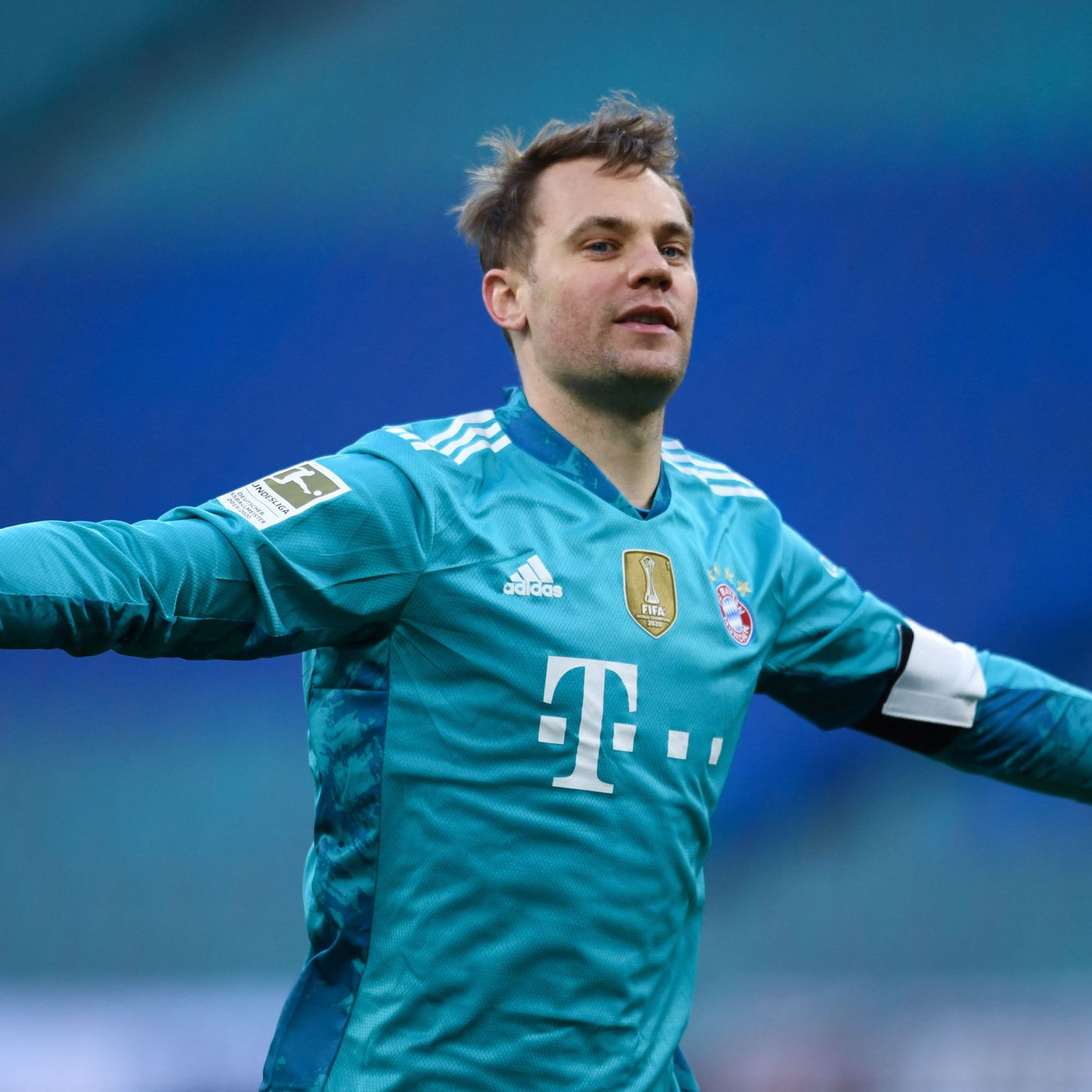 Manuel Neuer Jokes About His Net Repair Skills Reacts To Bayern Munich S 1 0 Win At Rb Leipzig Bavarian Football Works