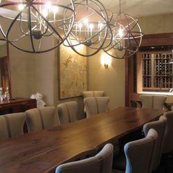 The private dining room at Congress.