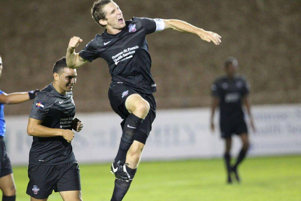 Captain Luke Vercollone aims high for the upcoming season.