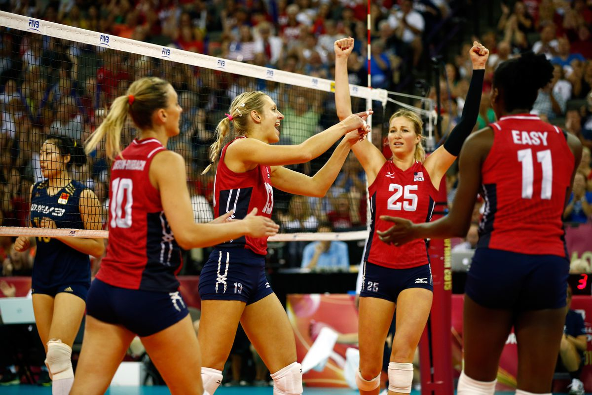 Olympic Womens Indoor Volleyball Players