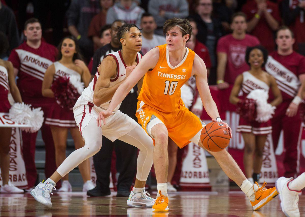 NCAA Basketball: Tennessee at Arkansas