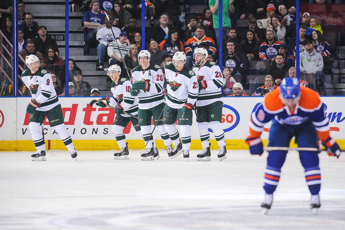 Wild At Oilers Game Preview How To Watch Tale Of The Tape Hockey Wilderness