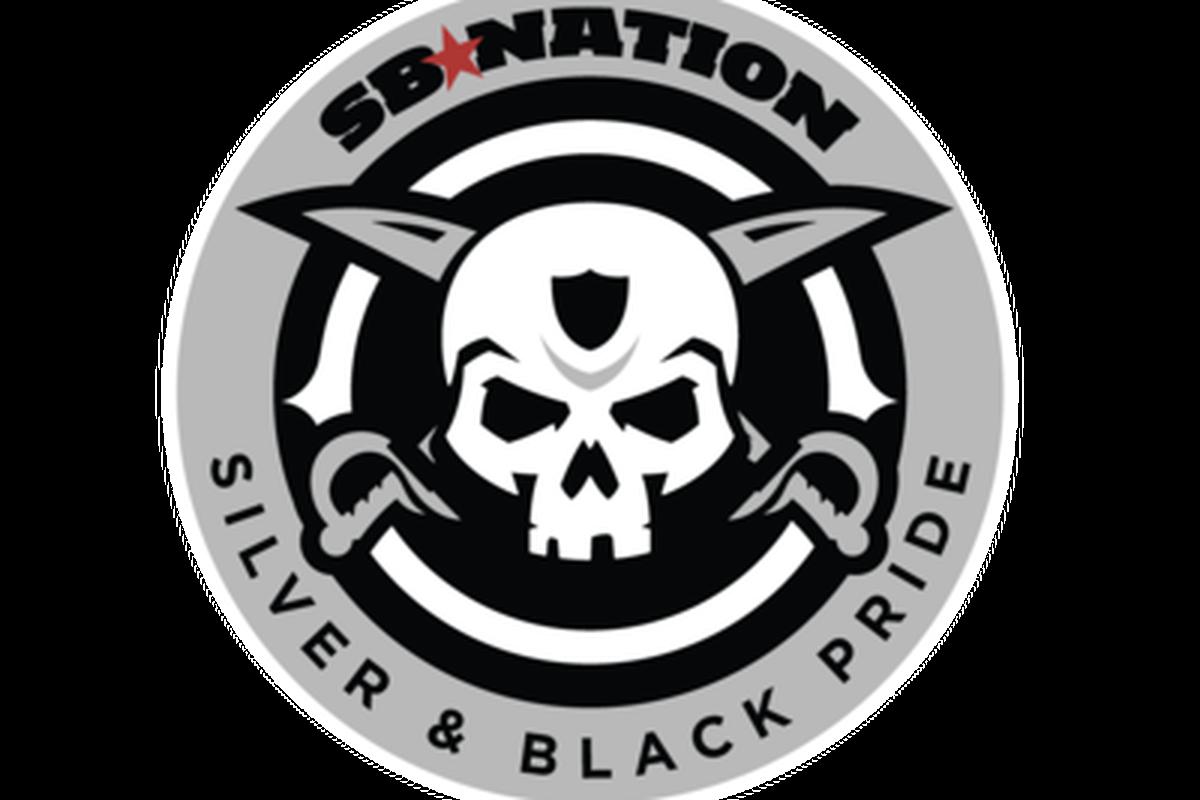 The new SB Nation United Silver & Black Pride logo