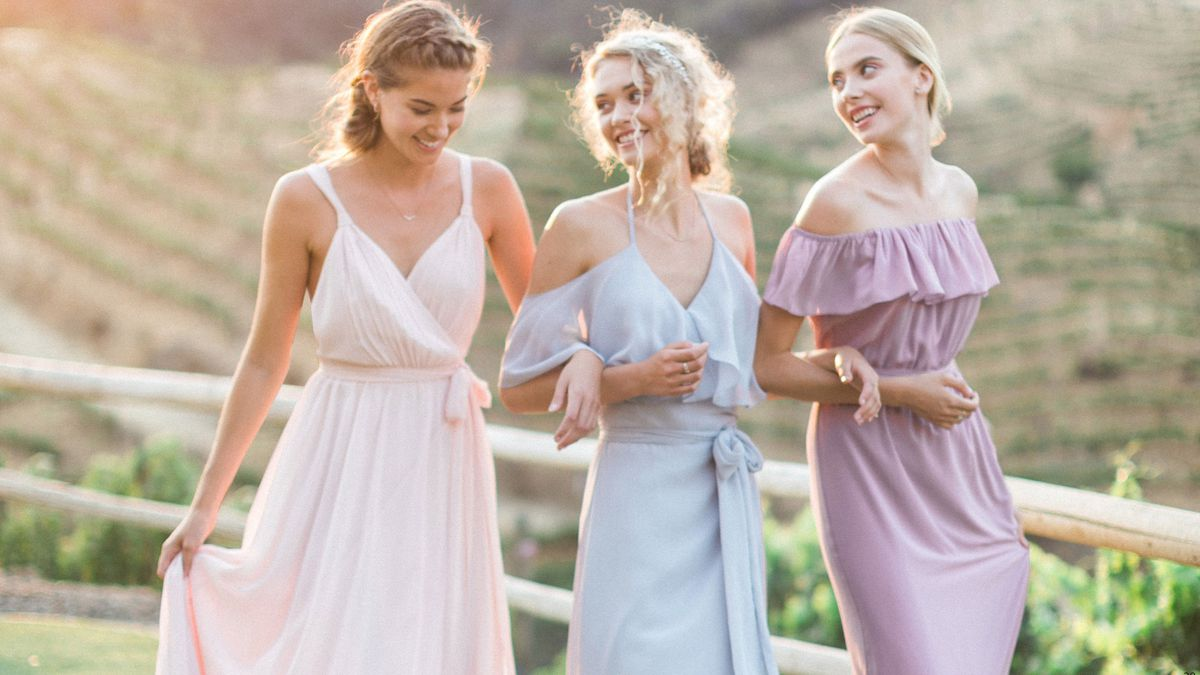 b59bd0348f Where to Buy Bridesmaid Dresses Online - Vox