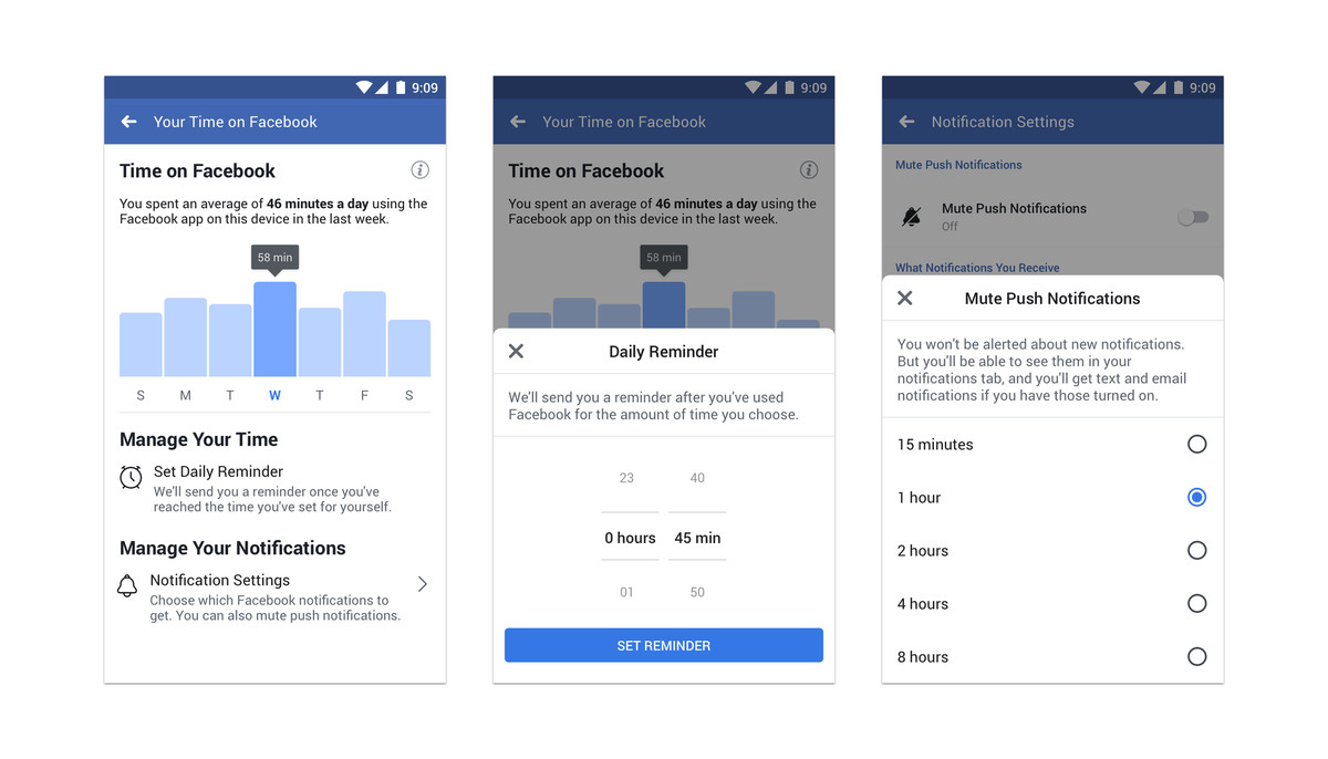 Facebook and Instagram add dashboards to help you manage