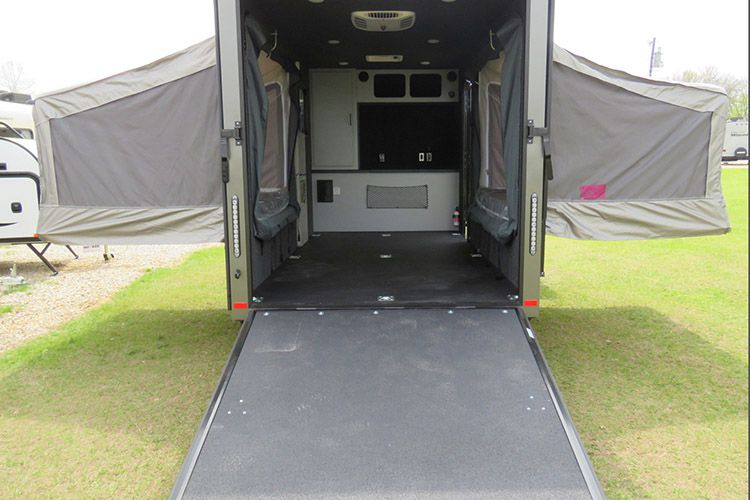 Trailer With Pop Out Tents Sleeps 4 And Hauls All Your