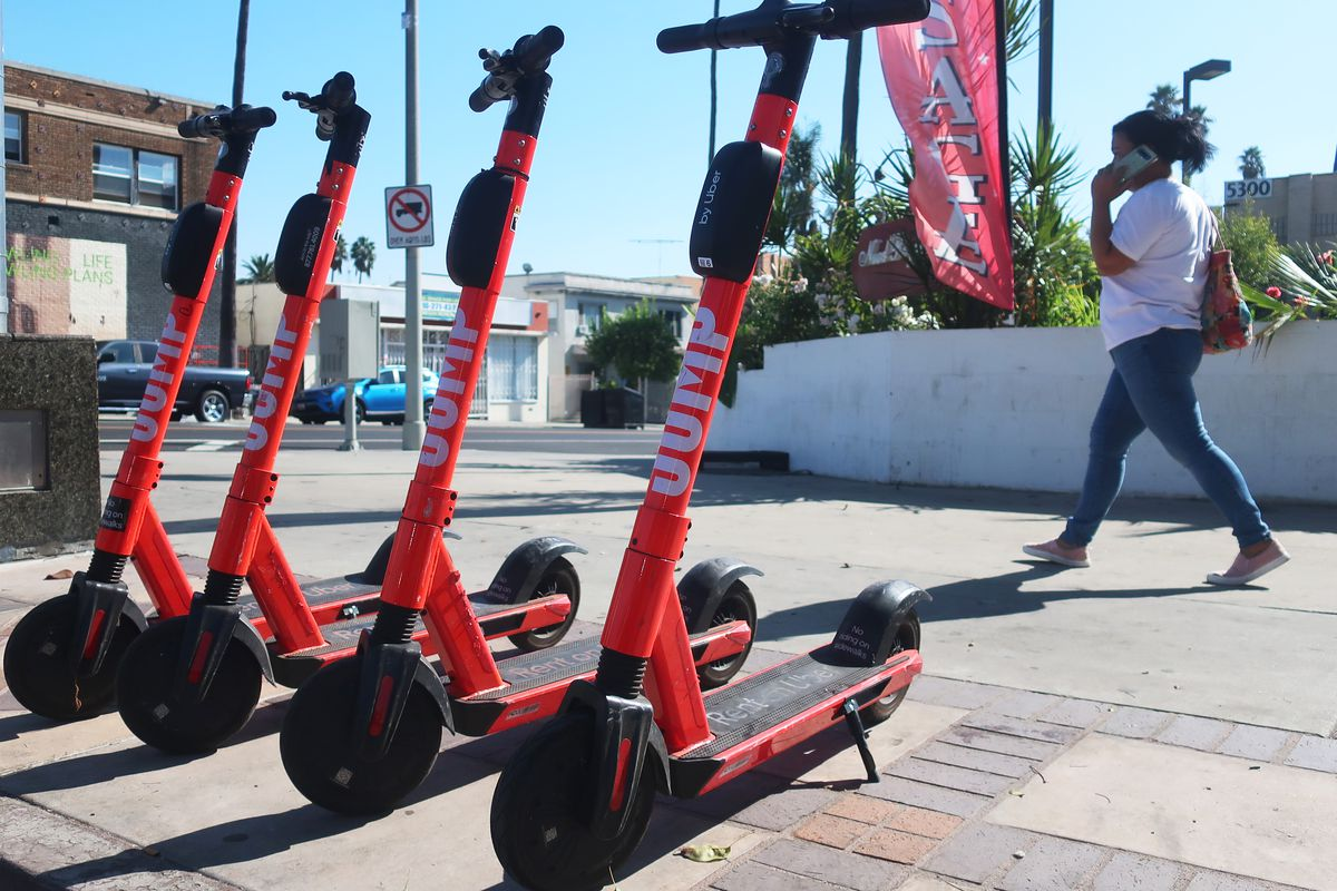 Los Angeles To Suspend Uber's Jump Scooters From City Streets