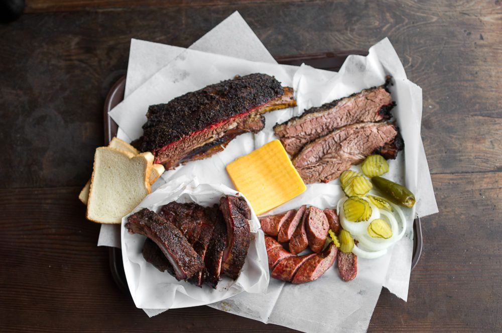 Louie Mueller Barbecue's smoked meats