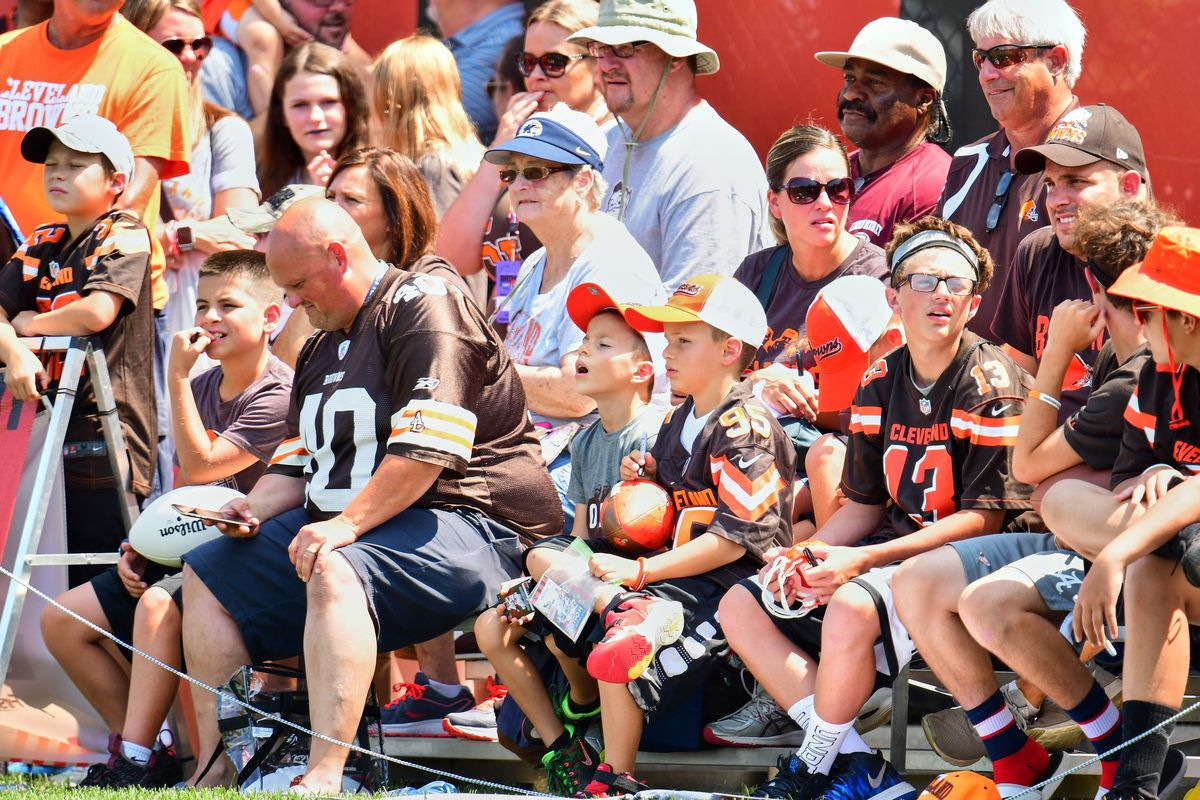 Cleveland Browns, 2019 Training Camp