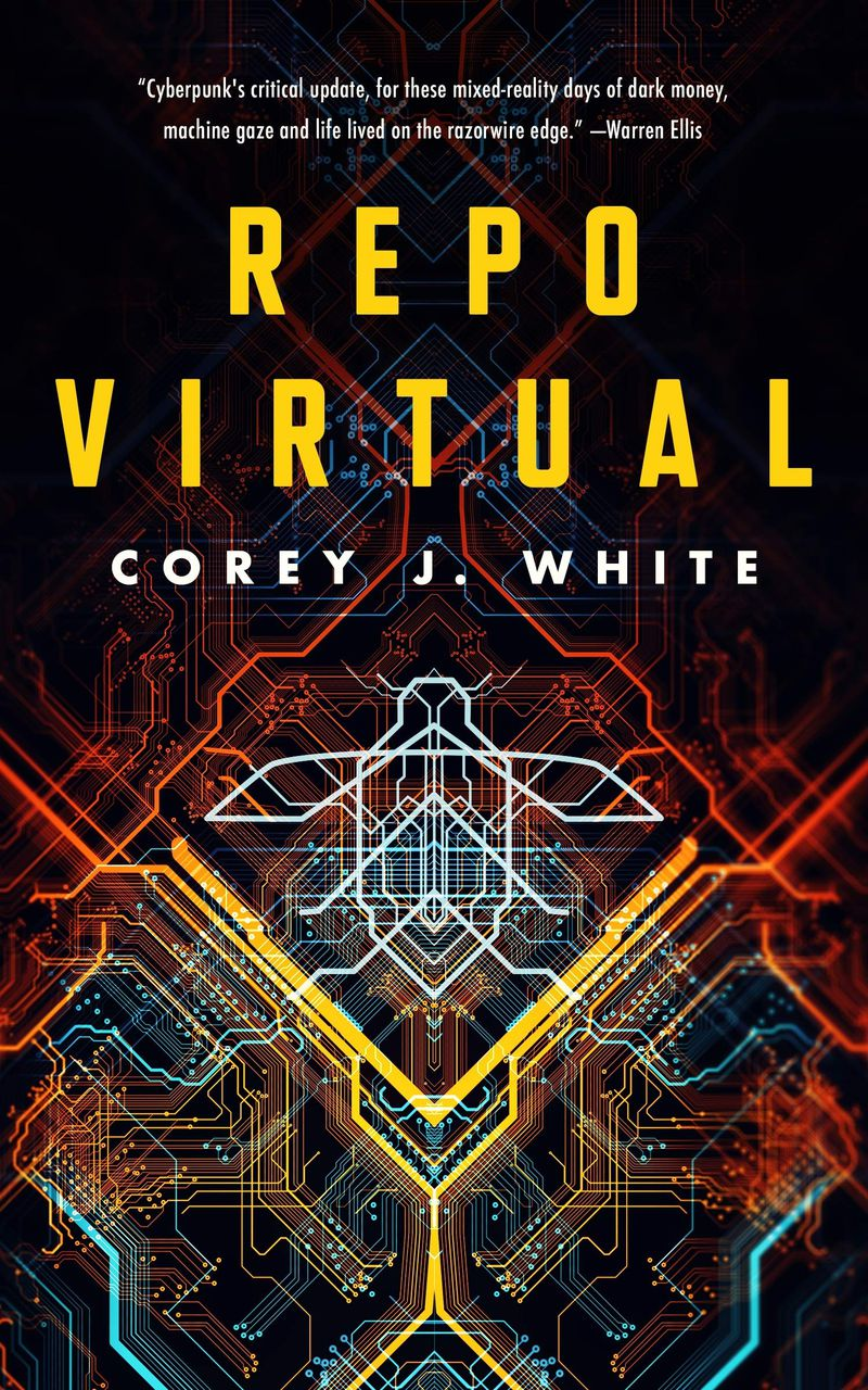 circuits wind around the cover of repo virtual cover