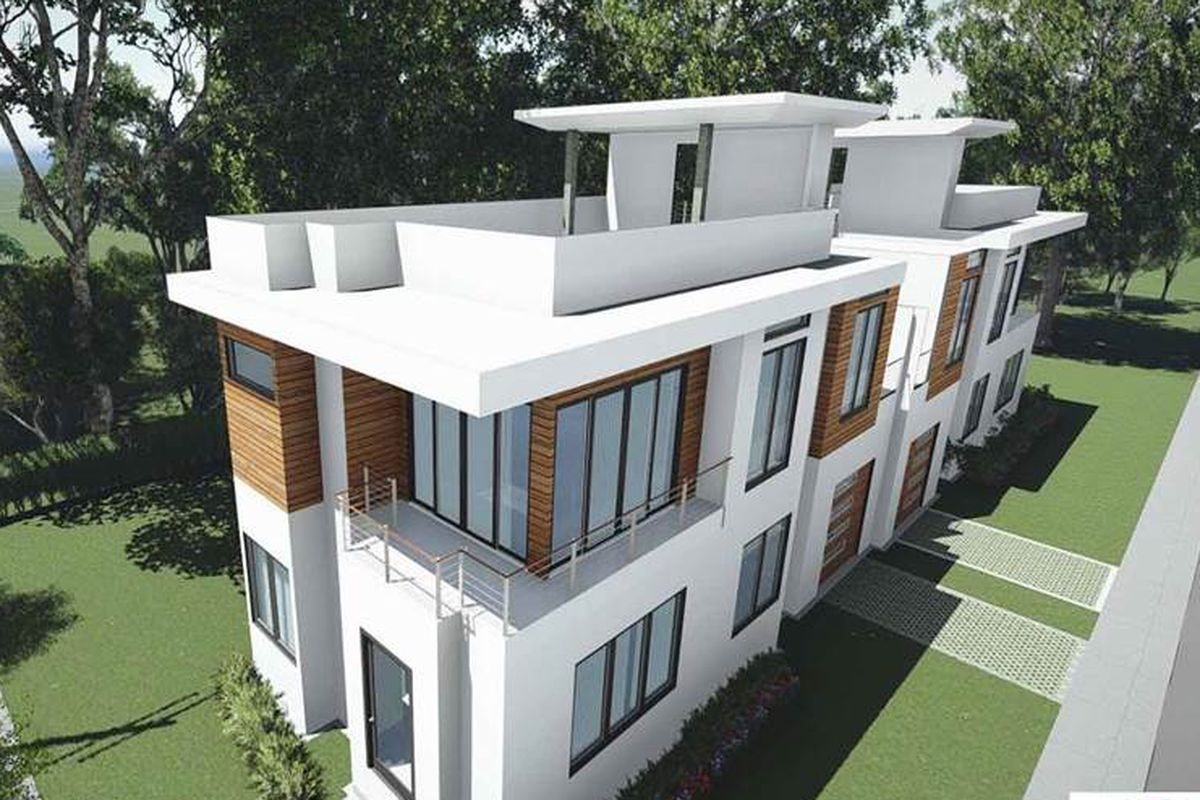 A new duplex project planned in Old Fourth Ward.