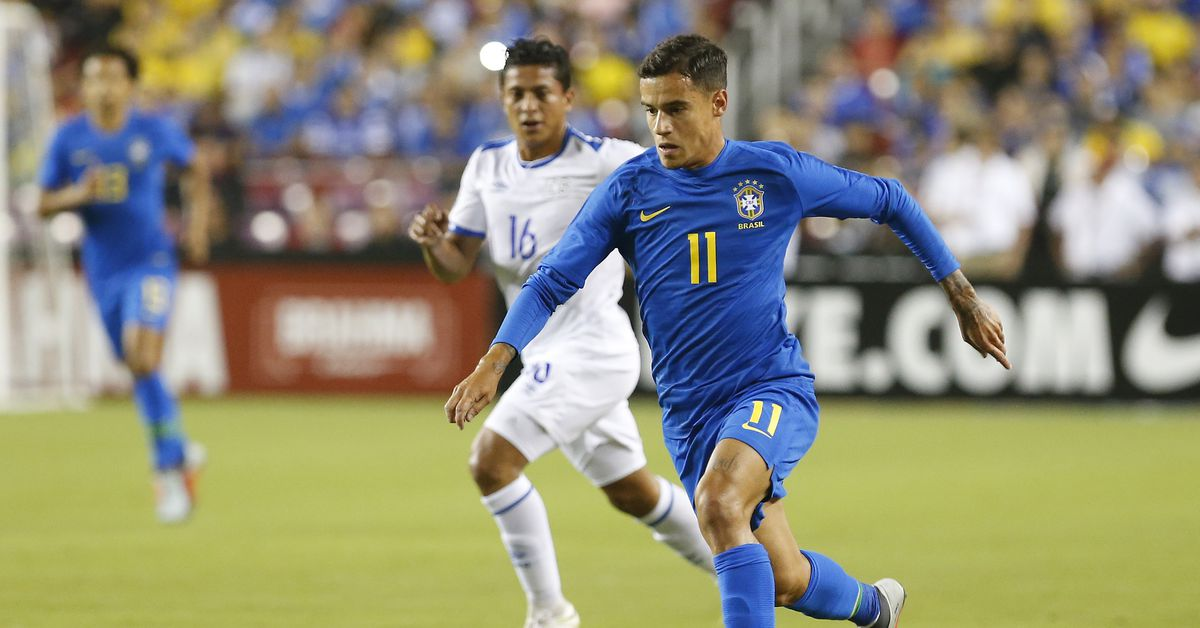 Philippe Coutinho On Target For Brazil As Arthur Makes