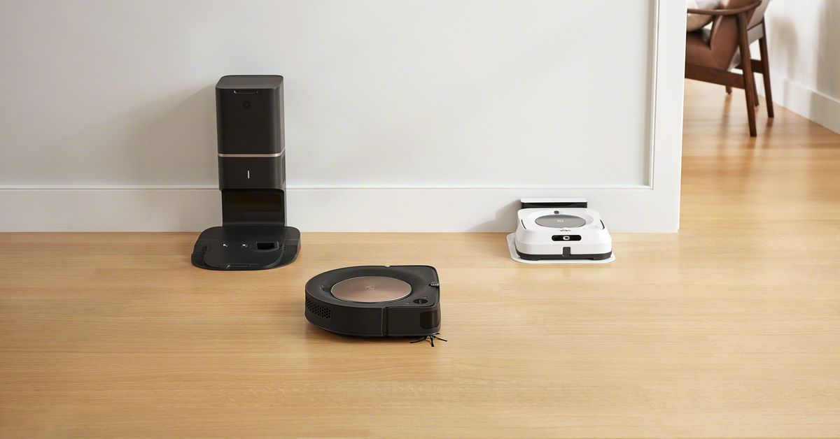 iRobot's new cleaning robots can team up to vacuum and mop your house