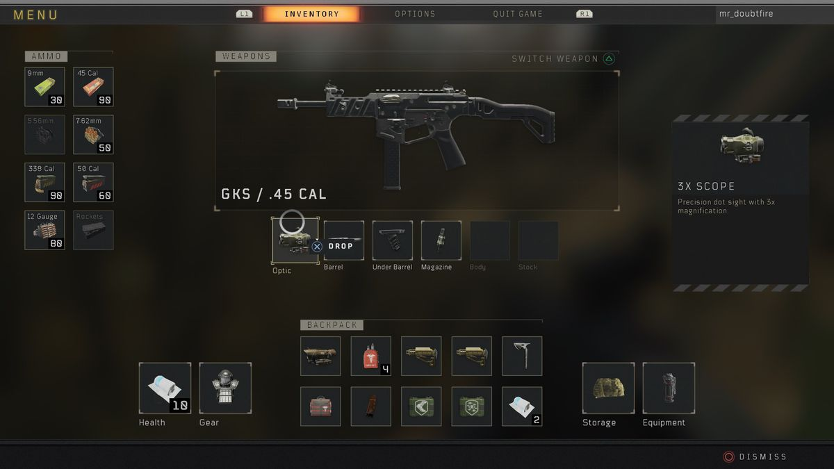Call of Duty: Black Ops 4 Blackout GKS