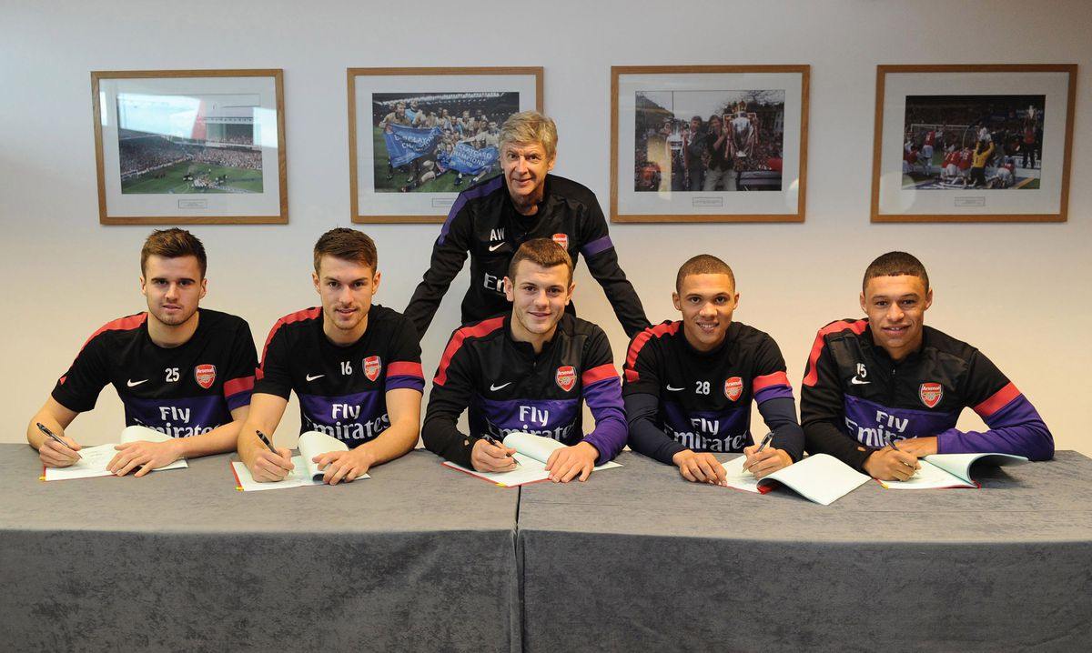 Five Arsenal Players Sign New Contracts