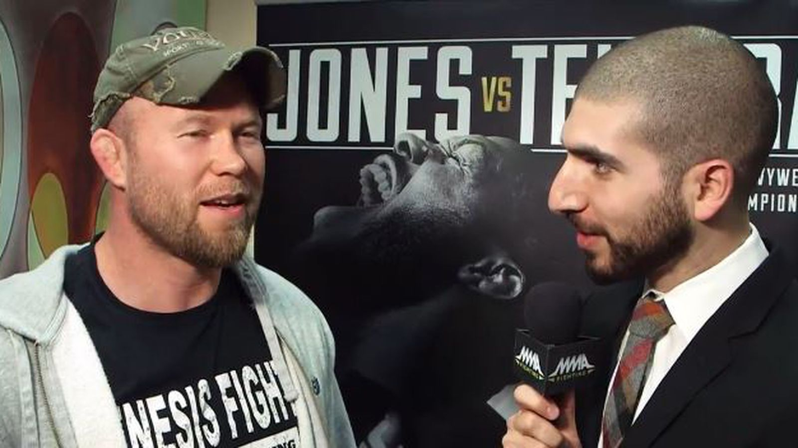 Tim Boetsch Predicts He Is Going To Emergency Room Along