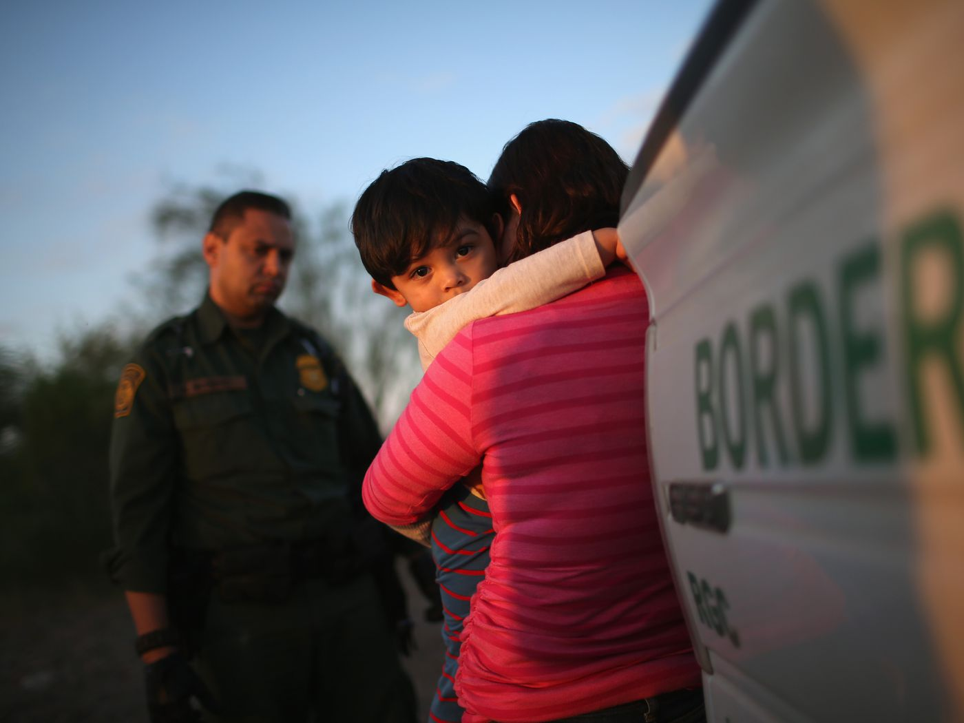 Immigration Trumps Dhs Is Separating Families Based On Bad Flexus Gesture Control Sleeve Statistics Vox