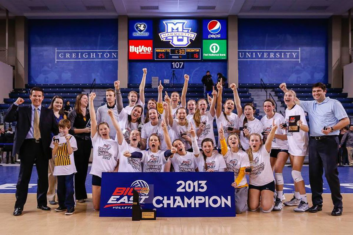Season of Champions: That trophy is going to look nice with the other five Marquette has collected this fall.