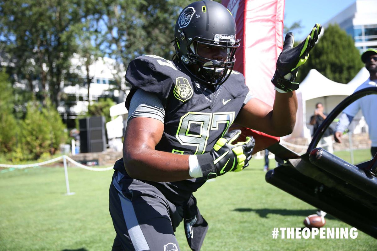 Rashan Gary is making the trip to Columbus for an unofficial visit.