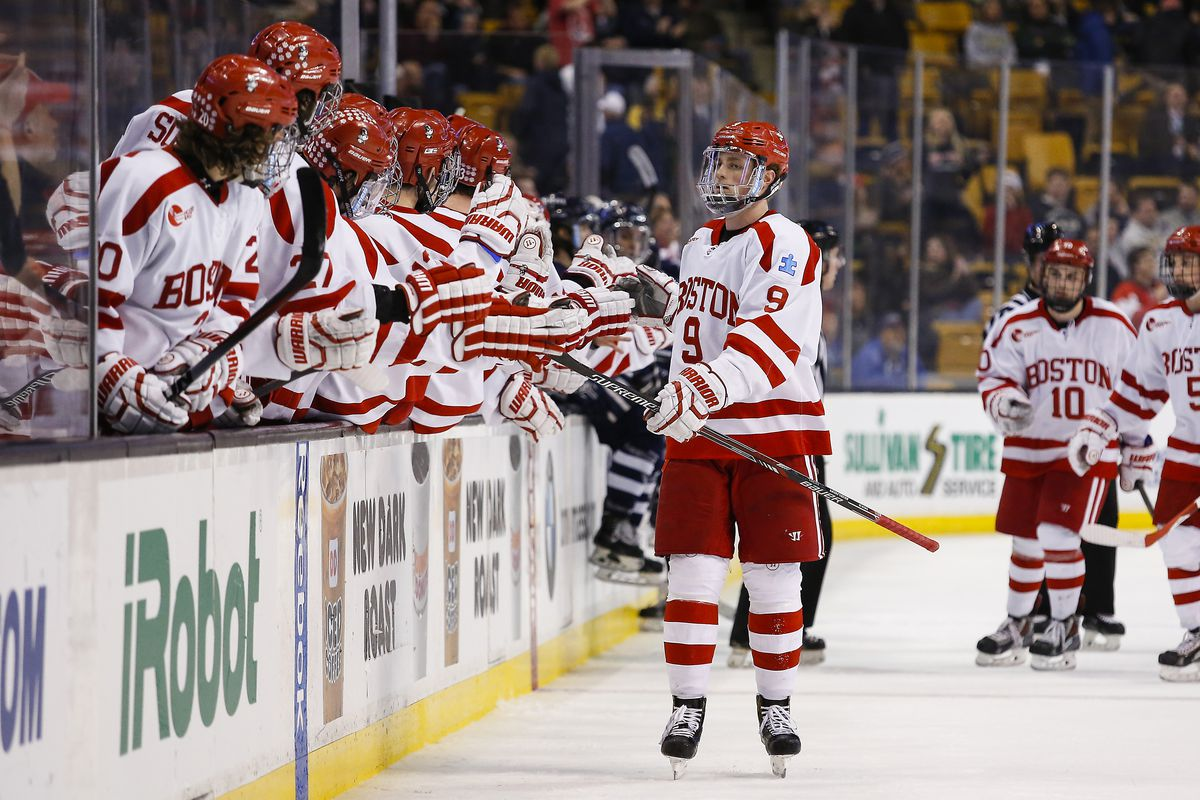 Boston University returns to the TD Garden where it already won Beanpot and Hockey East Tournament titles.