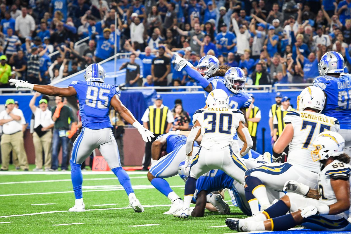 Detroit Lions Week 2 best radio calls vs. Chargers