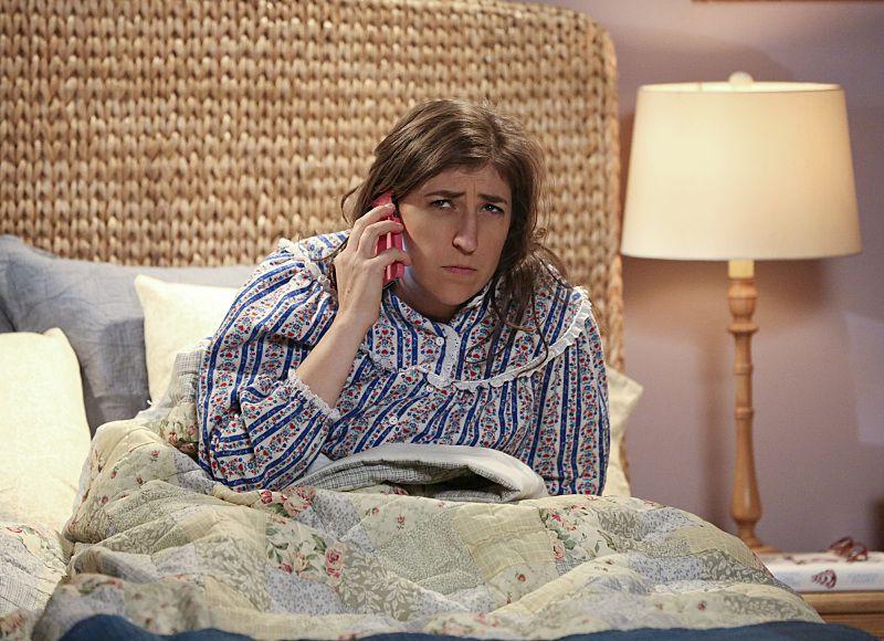 Amy on Big Bang Theory.