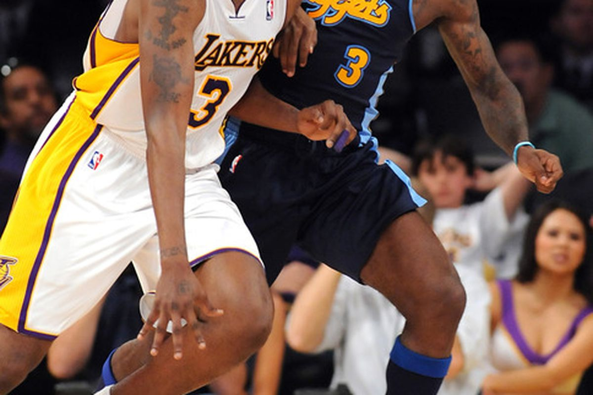 Photographic evidence that Ty Lawson played tonight. Weird.
