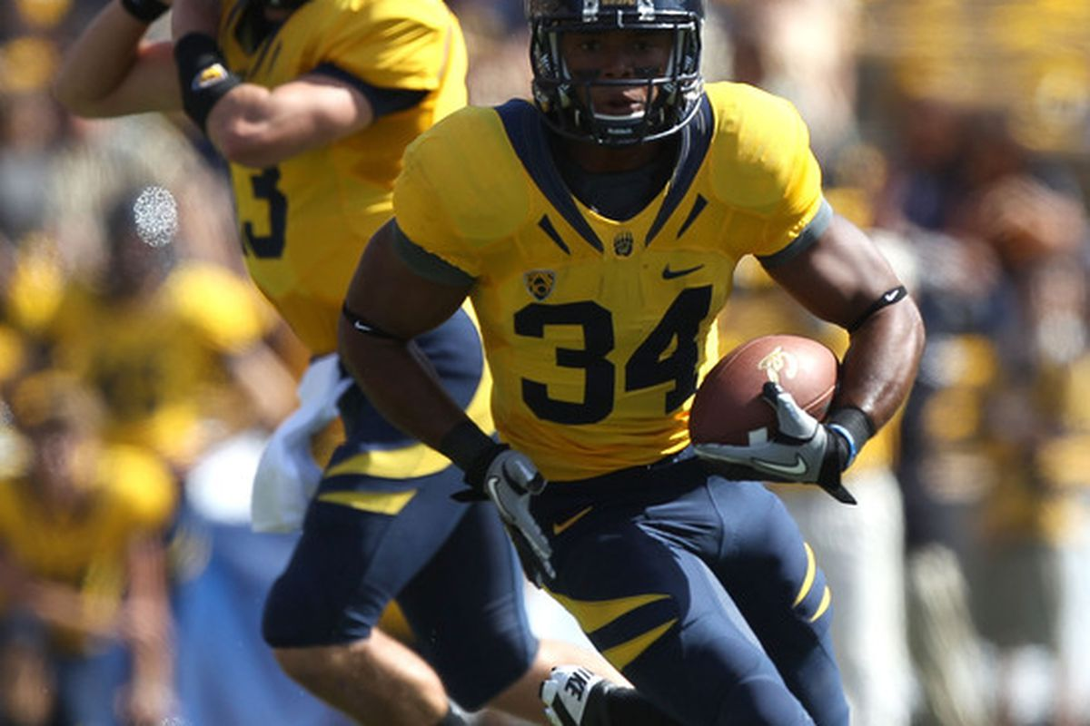 Shane Vereen hopes to be the next Golden Bear picked in this year's NFL Draft.