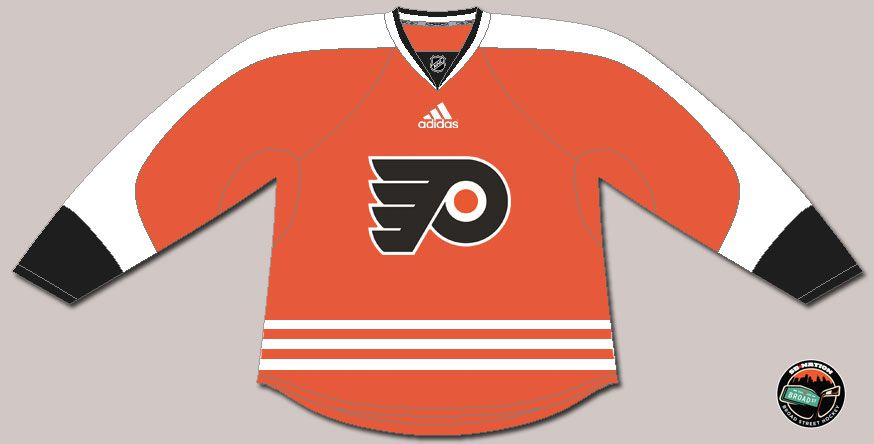 What could Flyers jerseys look like when Adidas takes over NHL ... ab58bc843