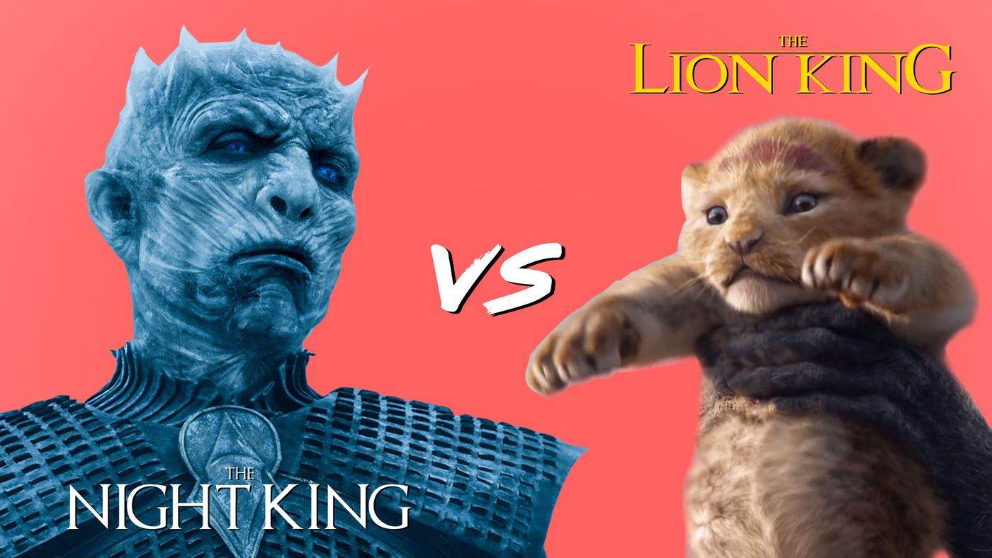 The Night King Is Back And He's Going After The Lion King