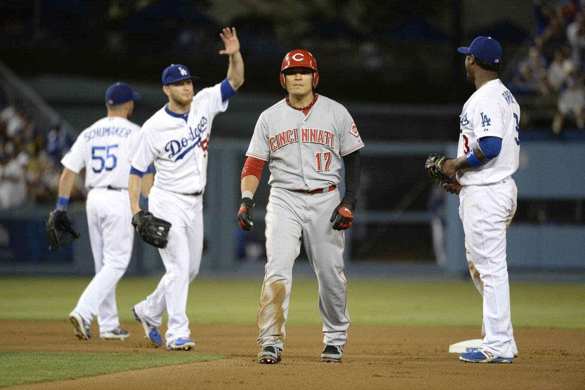 At least the Dodgers were able to fool Shin-Soo Choo.