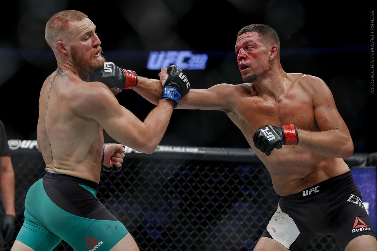 Nate Diaz slams Conor McGregor over loss to Floyd Mayweather