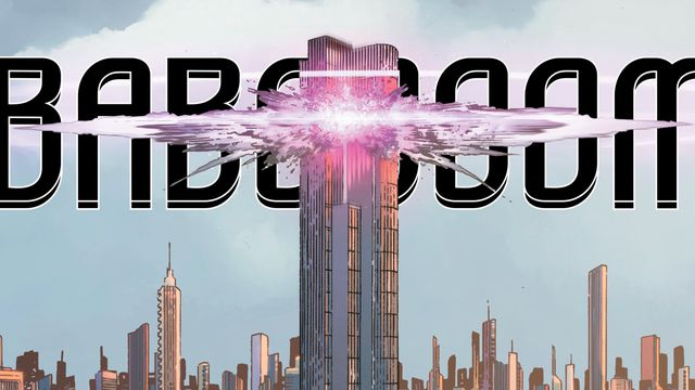 LexCorp Tower explodes in <em>Year of the Villain</em> #1.
