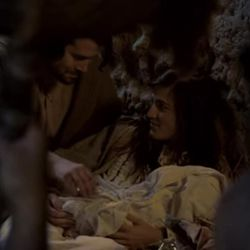A new music video features a couple who play the roles of Mary and Joseph.