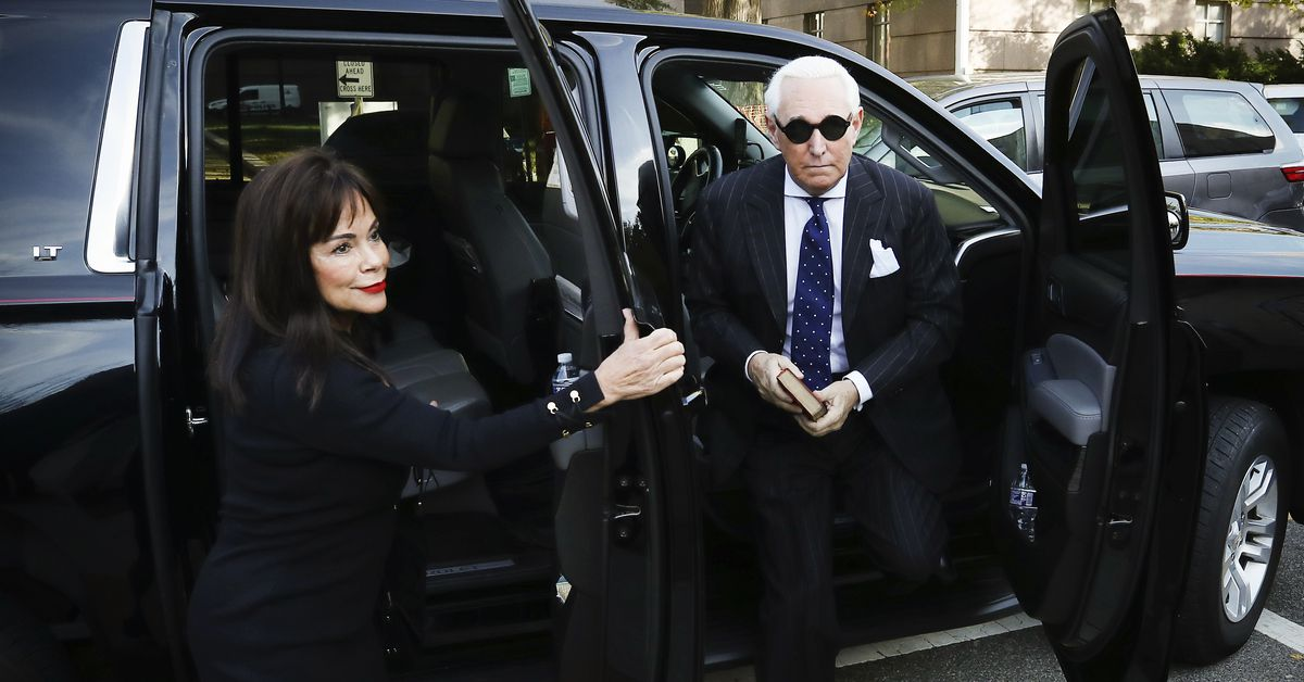 Roger Stone was just found guilty on all counts